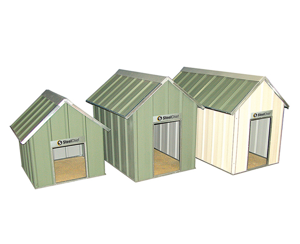 Small Medium and Large Steel Dog Kennels