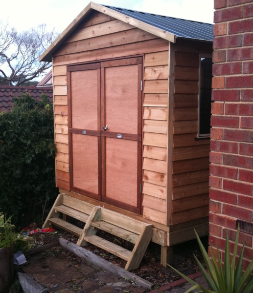 Timber Gable Shed on Sub-Floor
