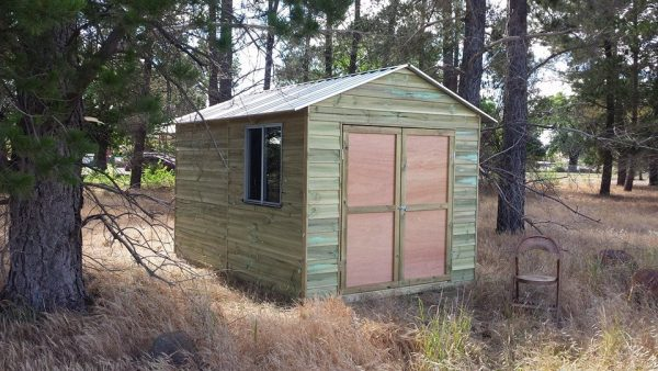 Studio Timber Workshop Shed Sliding Window