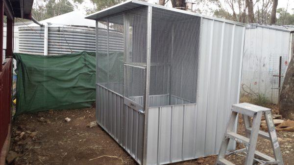 Aviary Bird Lock Skillion