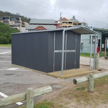 Heritage Roof Steel Frame Corrugated Shed