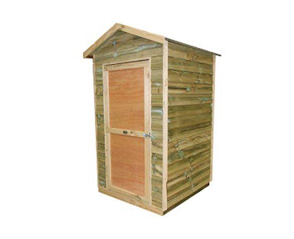Bay Box Timber Shed