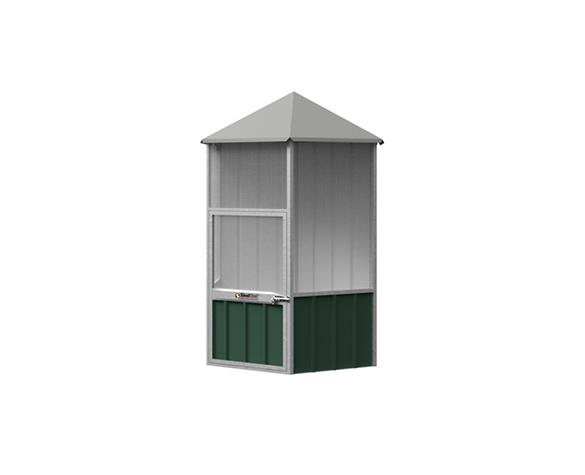 Hex Roof Aviary