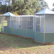 Hex Roof Aviary