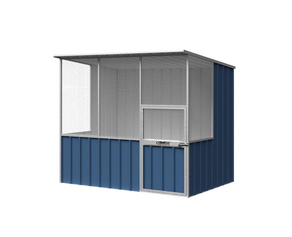 Skillion Roof Aviary