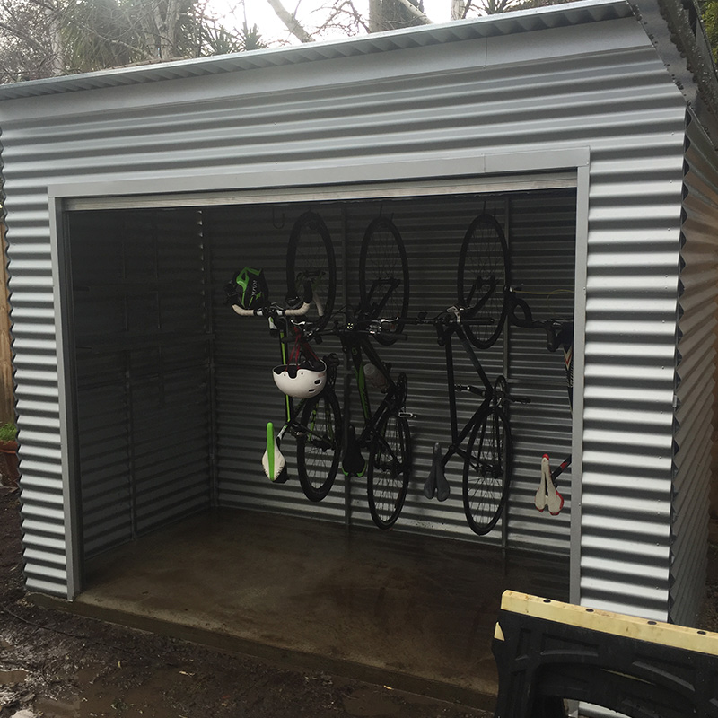 Skillion Roof Steel Frame Corrugated Shed Steelchief