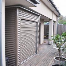 roller door shed