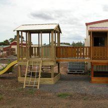 Cabin cubby house