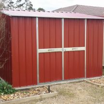 Chemical Storage Shed
