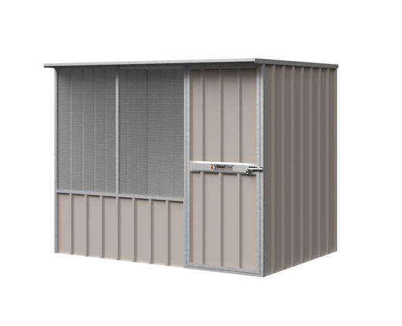 Flat Roof Chook Shed