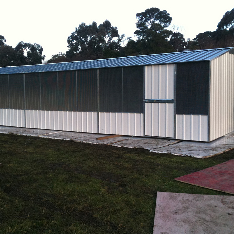 Gable Roof Chook Shed Steelchief Melbourne Sydney
