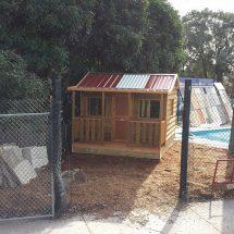 Hideout cubby house