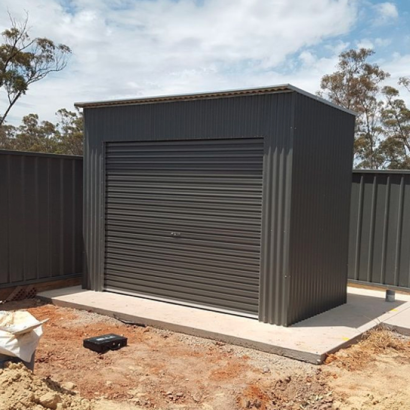 Roller Door Storage Shed Steelchief Melbourne Sydney Adelaide