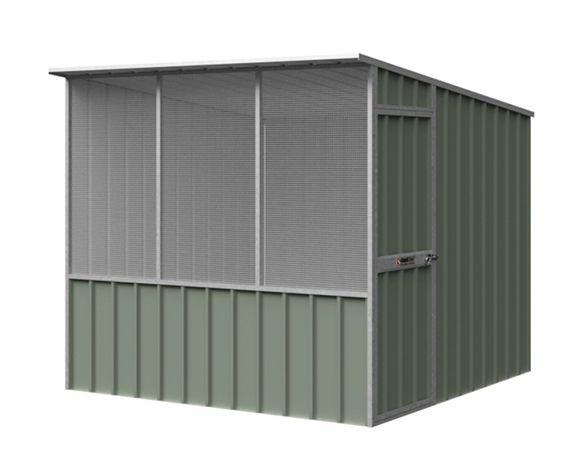 Skillion Roof Chook Shed