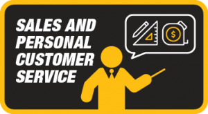 Sales and Personal Customer Service